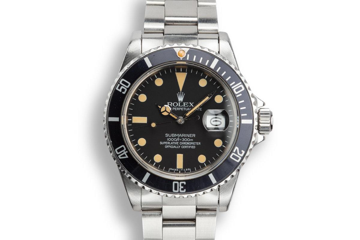 1983 Rolex Submariner 16800 Matte Dial photo, #0