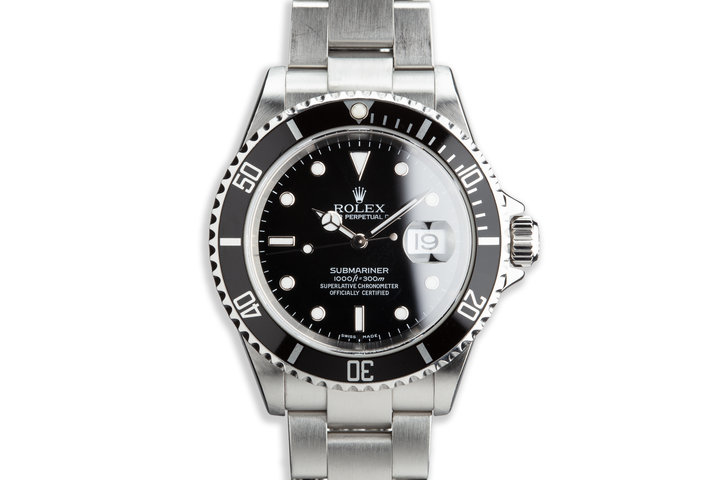 2005 Rolex Submariner 16610 photo