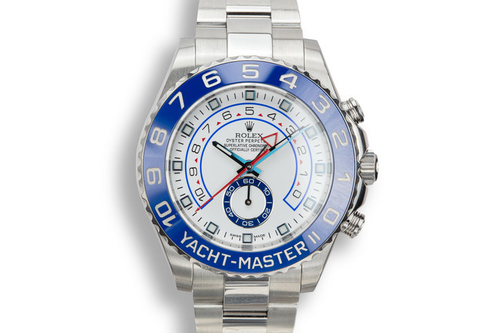 2015 Rolex Yacht-Master 116680 with Box and Papers photo
