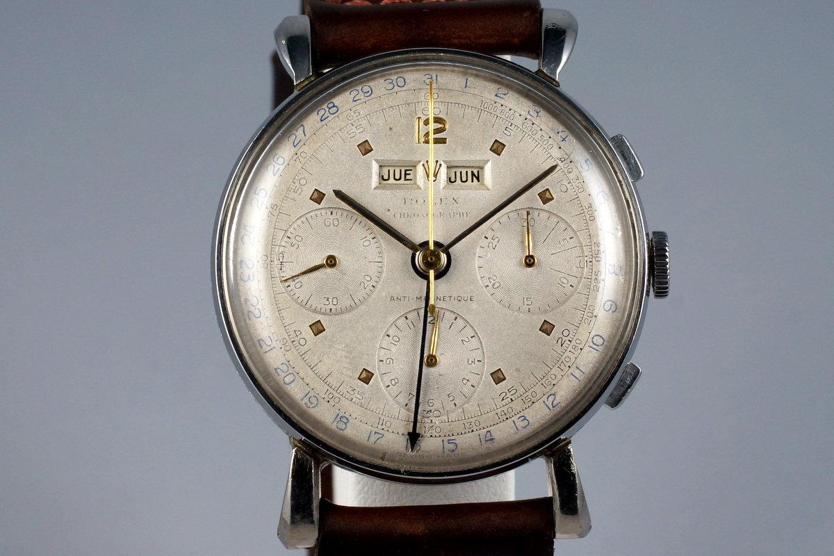 1960 Rolex Steel Datocompax Triple-Date Chronograph 4768 photo, #0