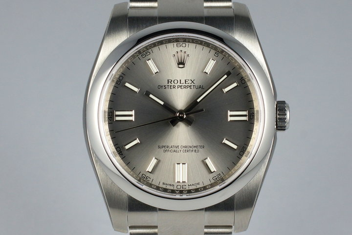 2016 Rolex Oyster Perpetual 116000 MINT photo