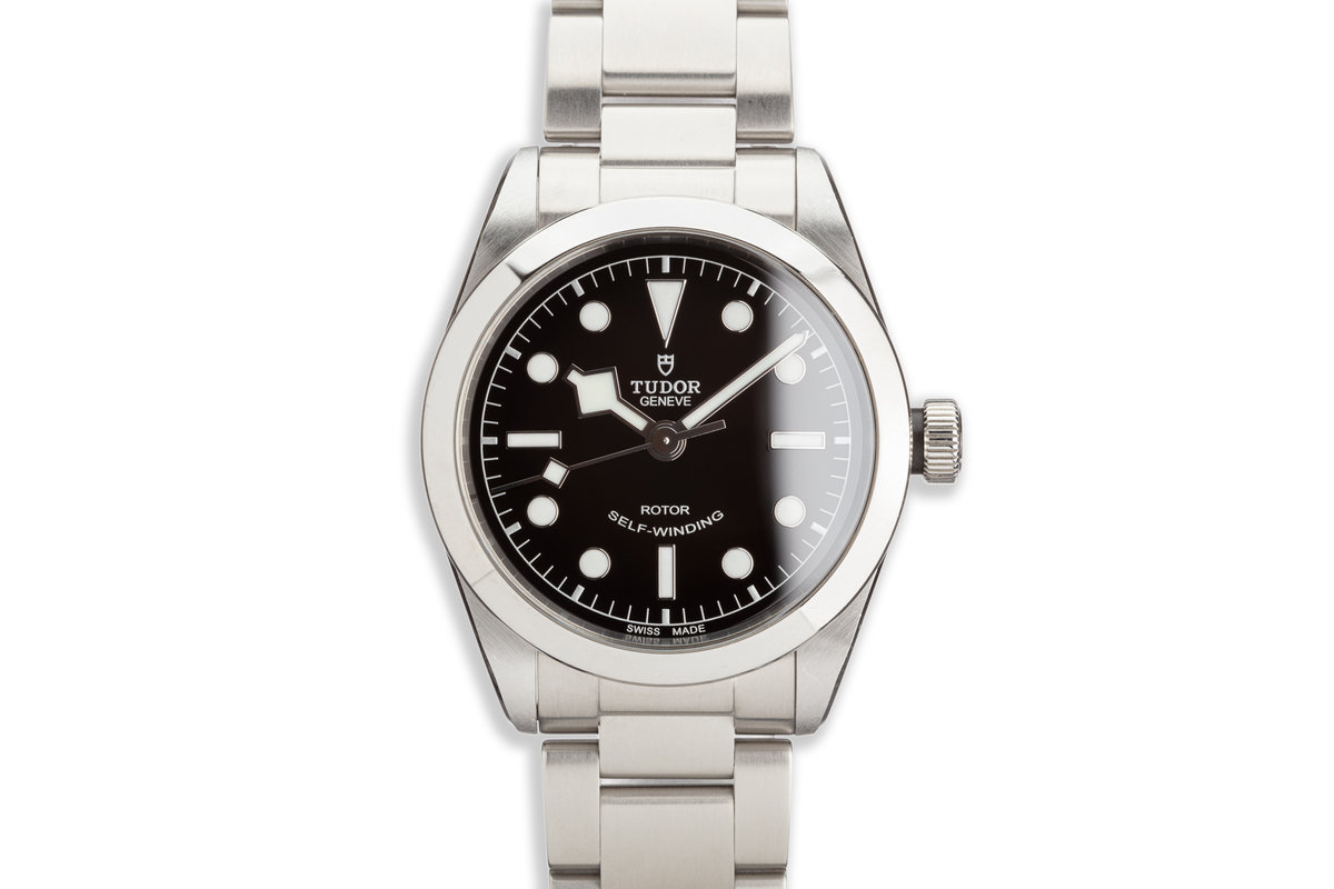 2019 Tudor 79500 Heritage Black Bay 36mm with Box and Card photo, #0