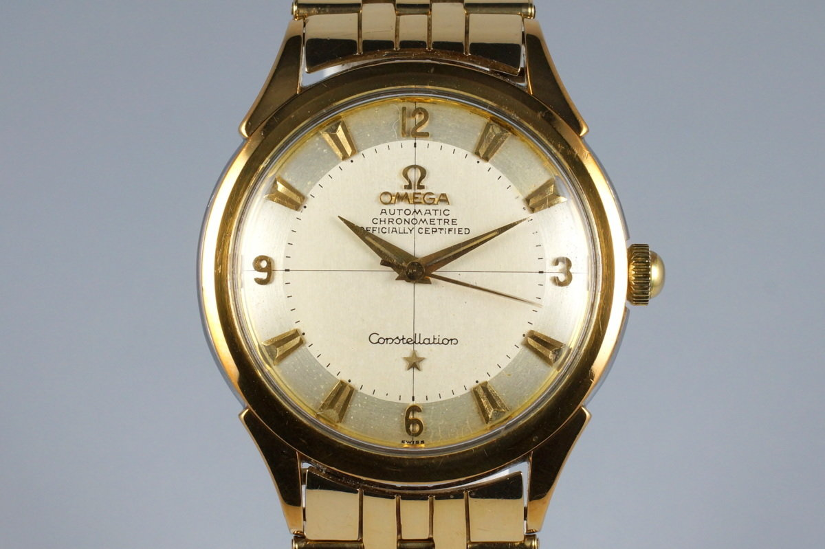 1950's Omega Gold Shell Constellation 2652 Calibre 354 photo, #0