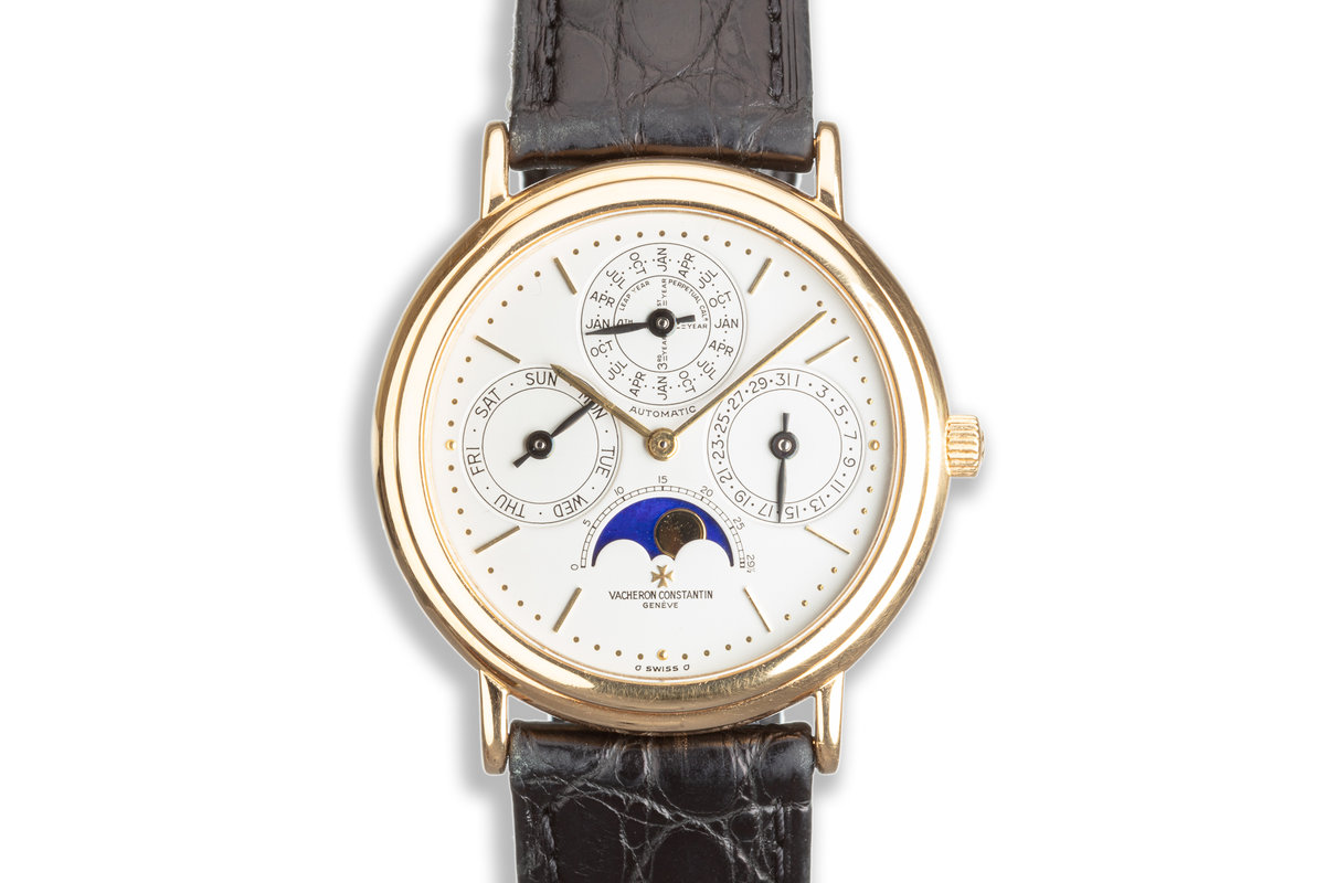 Vacheron & Constantin Perpetual Calendar Moon Phase 4303113 with Box and Papers photo, #0
