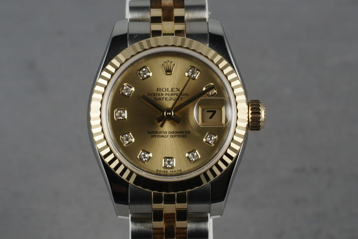 2008 Rolex Ladies Tone Datejust  179173 photo