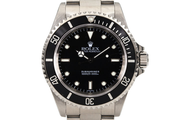1998 Rolex Submariner 14060 with SWISS only dial photo