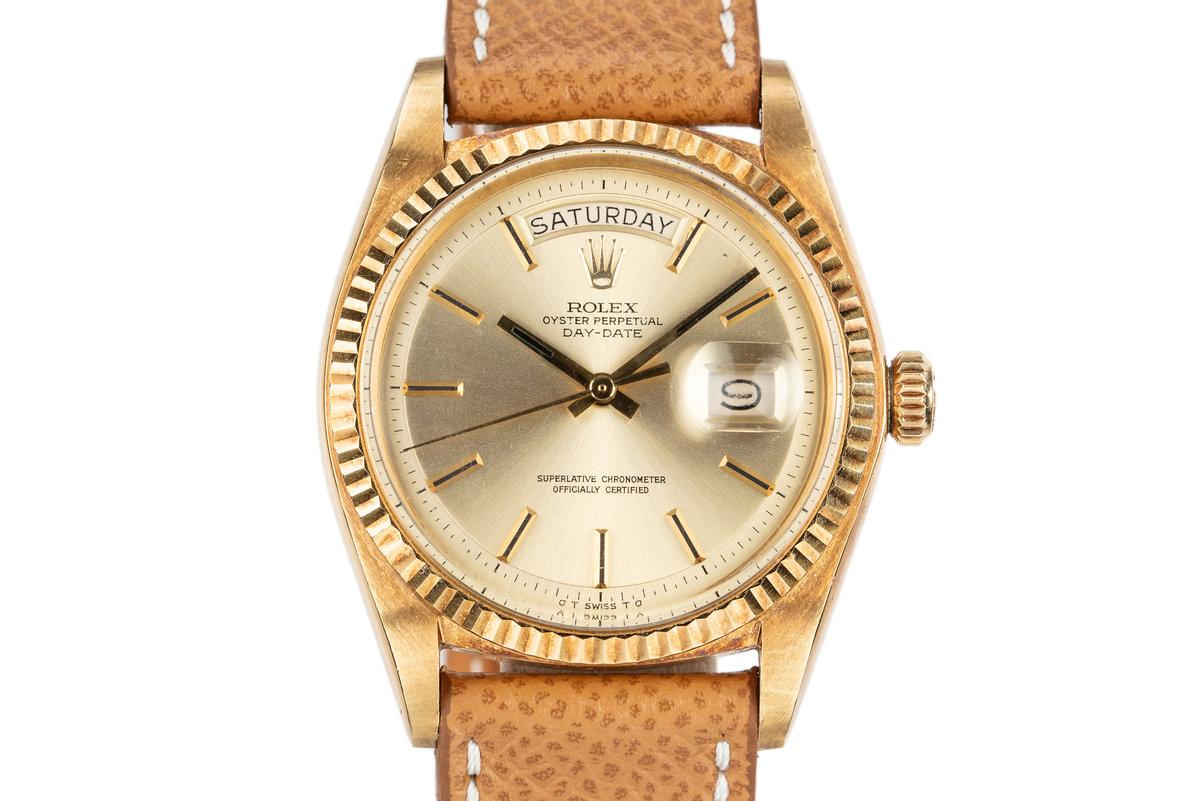 1968 Rolex 18K Day-Date 1803 photo, #0
