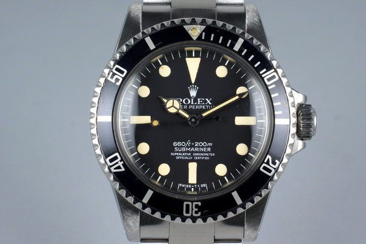 1978 Rolex Submariner 5512 Mark I Maxi photo