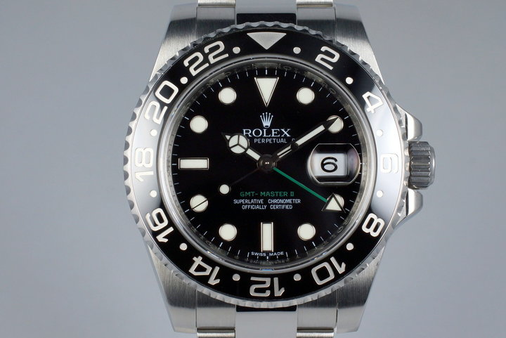 2009 Rolex GMT II 116710LN photo