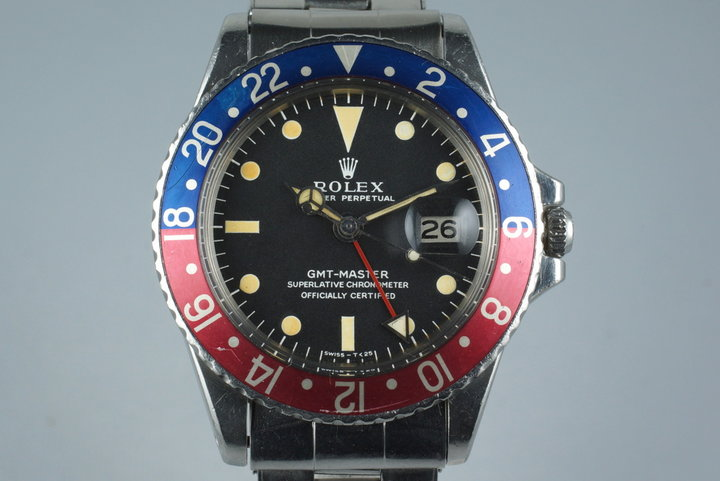 1968 Rolex GMT 1675 Mark I Dial photo