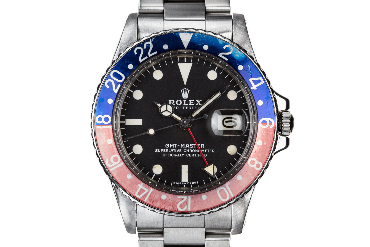 "1971 Rolex GMT-Master 1675 with ""Pepsi"" Bezel photo, #0"