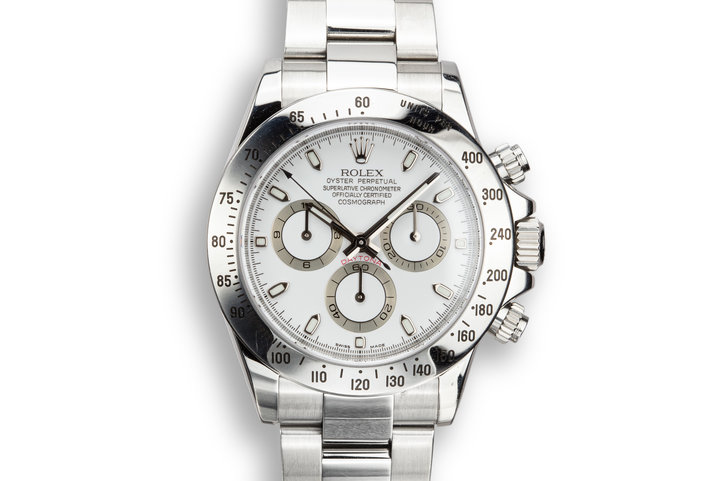 2007 Rolex Daytona 116520 White Dial with Box and Papers photo