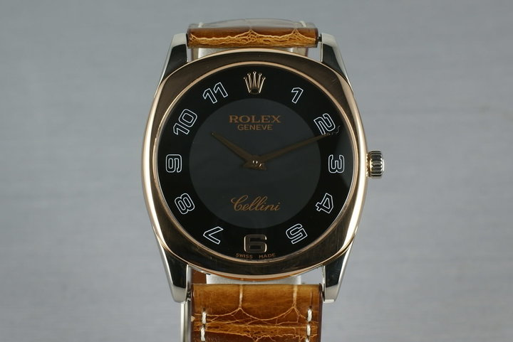 Rolex Cellini 18K White and Rose gold Ref: 4233 photo
