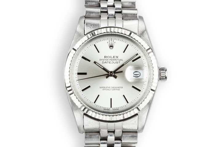 1968 Rolex DateJust 1601 with Silver Service Dial photo