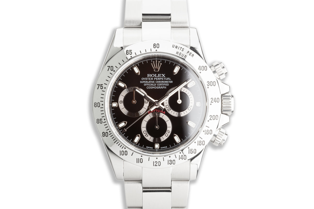 2014 Rolex Daytona 116520 Black Dial with Box & Papers photo, #0