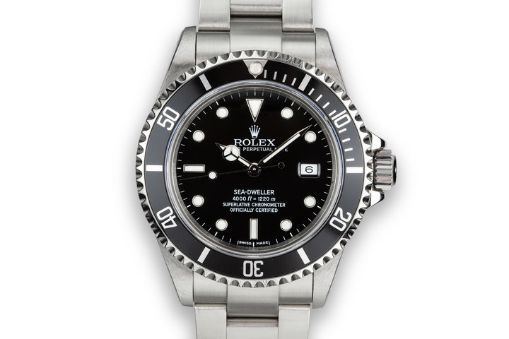 2000 Rolex Sea-Dweller 16600 photo