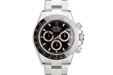 2019 Rolex Daytona 116500LN Black Dial with Box & Card photo