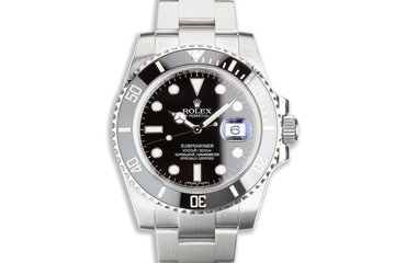 2017 Rolex Submariner 116610LN with Box & Card photo