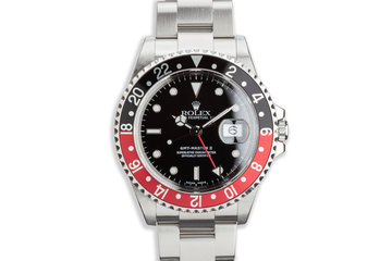 "2000 Rolex GMT-Master II 16710 ""Coke"" photo"