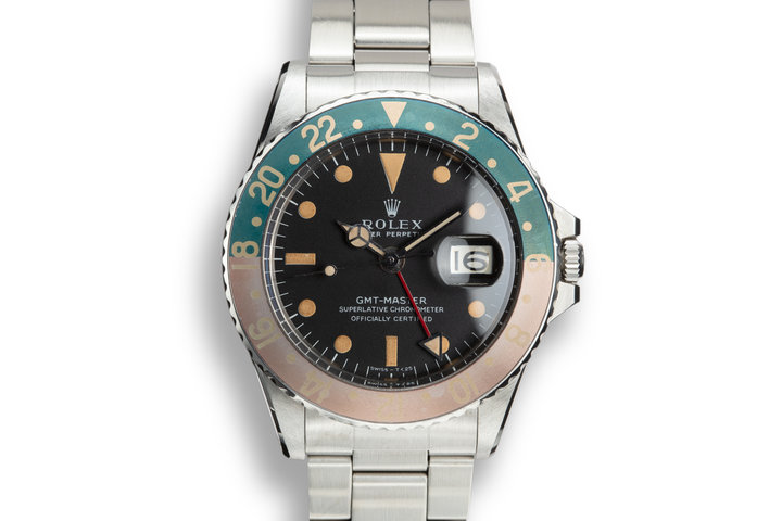 1968 Rolex GMT-Master 1675 with Mark 1 Matte Dial photo