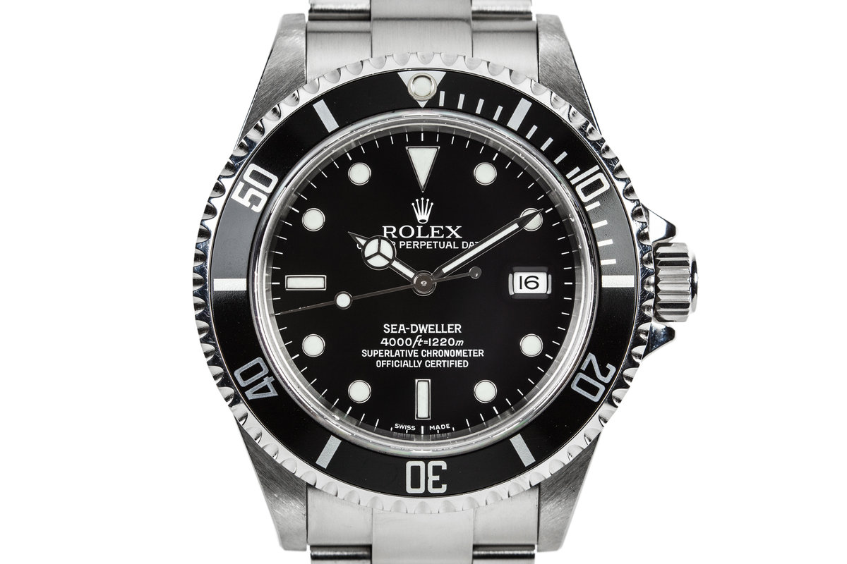2007 Rolex Sea-Dweller 16600 with Box, Papers, and Kit photo, #0