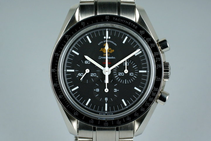 2007 Omega Speedmaster 311.30.42.30 50th Anniversary Limited Ed. with Box photo
