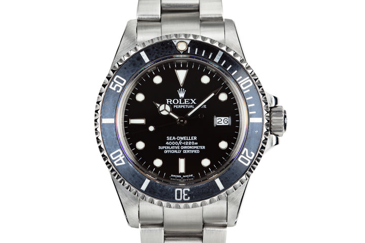 1986 Rolex Sea-Dweller 16660 with Service Dial photo