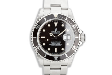 1996 Rolex Submariner 16610 photo