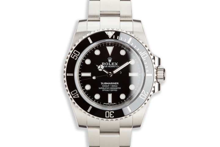 2019 Rolex Submariner 114060 NIB with Card and Stickers photo