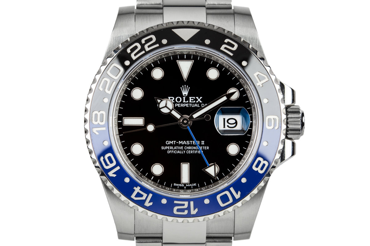 """2017 Rolex GMT-Master II 116710 BLNR """"Batman"""" with Box and Papers photo, #0"""