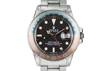 1972 Rolex GMT-Master 1675 with Box and Papers photo