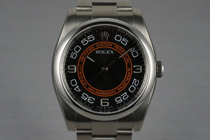 2007 Rolex Oyster Perpetual 116000 with Box and Papers photo