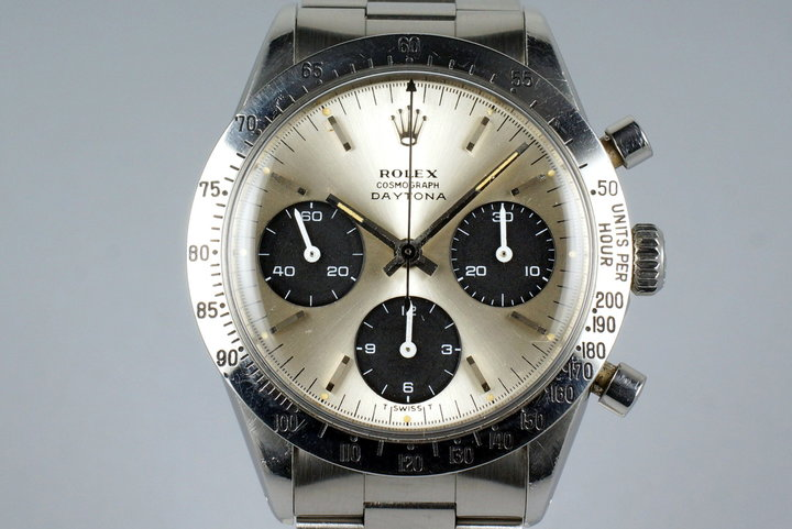 1968 Rolex Daytona 6239 Silver Dial photo
