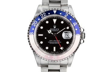 "1995 Rolex GMT-Master 16700 with Faded ""Pepsi"" Bezel photo"