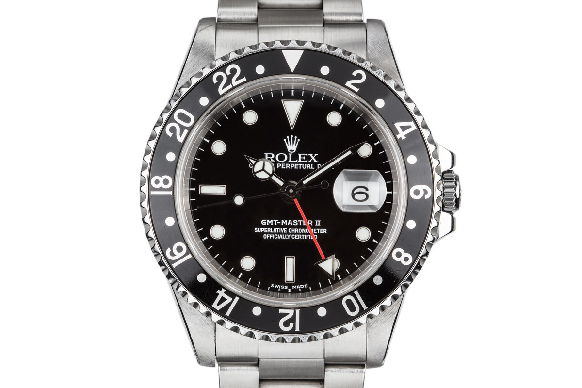 1999 Rolex GMT-Master II 16710 photo, #0