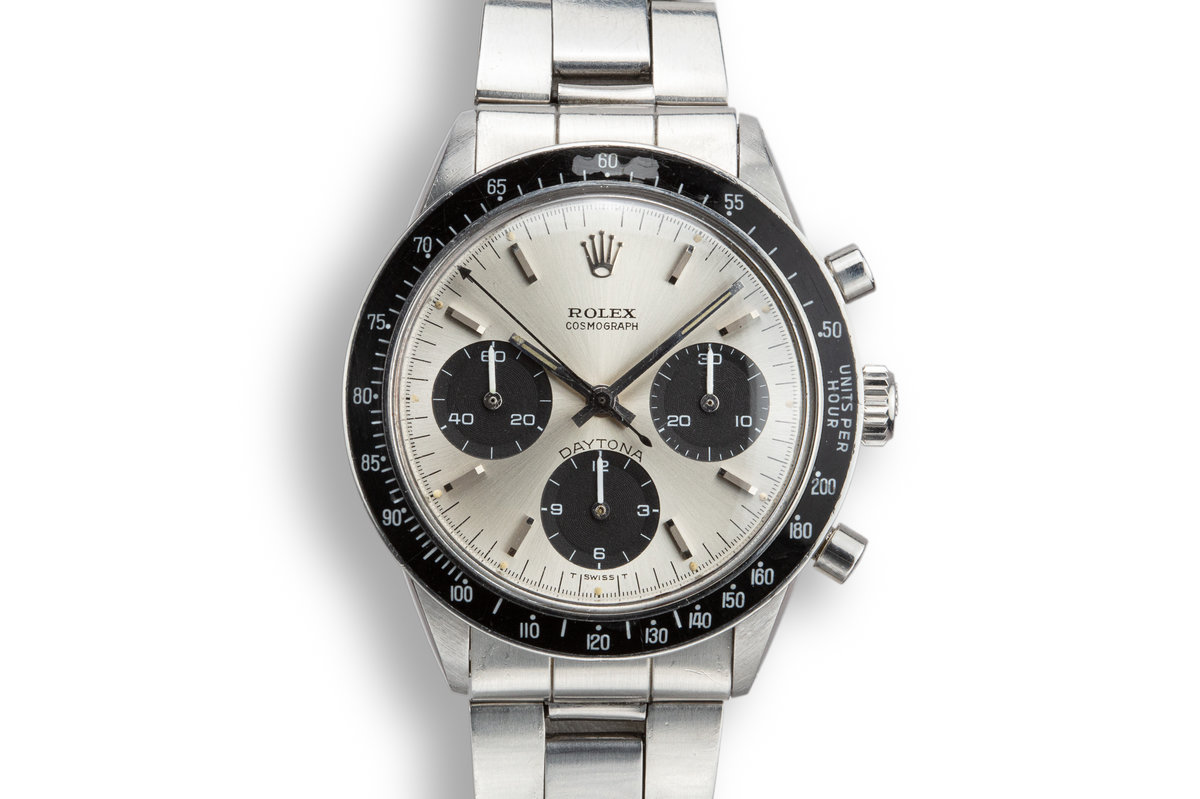 1969 Rolex Daytona 6241 Silver Dial photo, #0