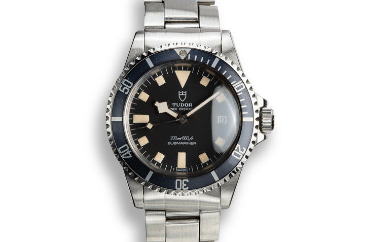 1982 Tudor Snowflake Submariner 94110 photo