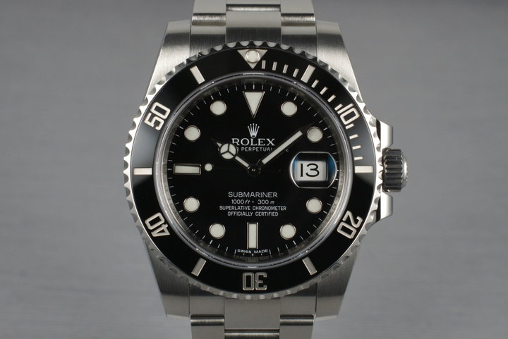 2010 Rolex Submariner 116610LN with Box and Papers photo