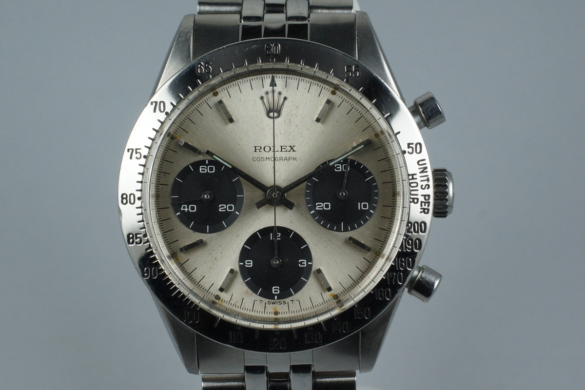 1963 Rolex Daytona 6238 with RSC Service Papers photo, #0