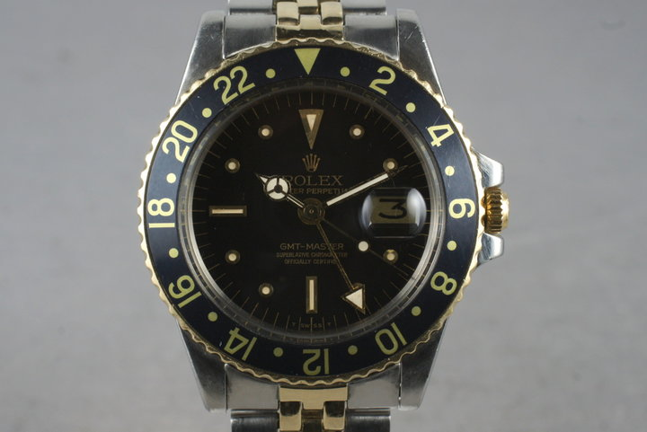 1978 Rolex Two Tone GMT 1675 with Box and Papers photo
