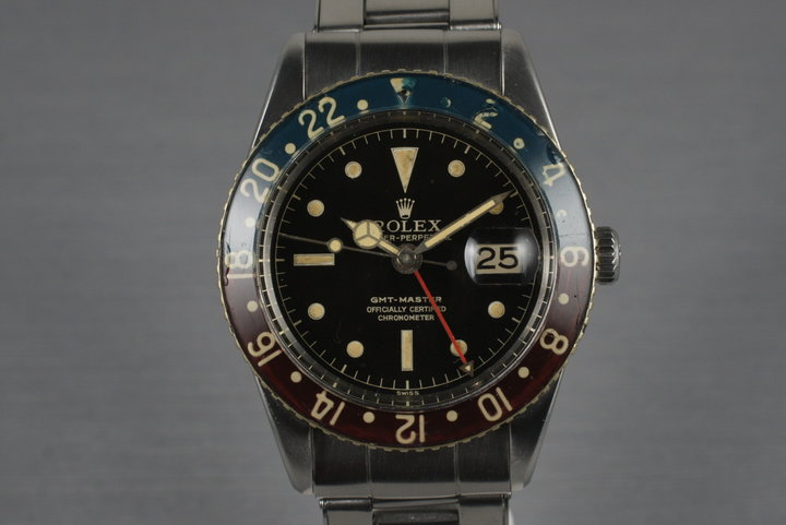 1954 Rolex GMT 6542 with Original Bakelite Bezel photo