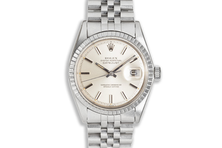 1978 Vintage Rolex DateJust 1603 with Silver Dial photo