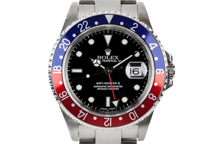 2000 Rolex GMT-Master II 16710 with Box and Papers photo