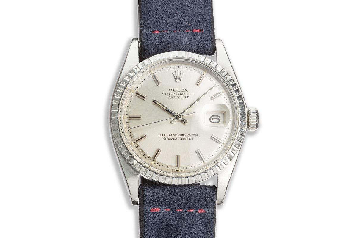 1971 Vintage Rolex DateJust 1603 Silver Dial photo, #0