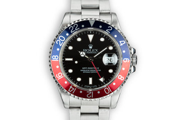 "1991 Rolex GMT-Master II 16710 ""Pepsi"" photo"