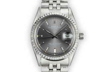1976 Rolex DateJust 1603 Grey Sigma Dial photo