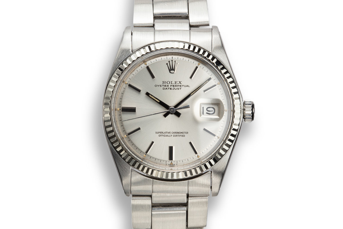1970 Rolex DateJust 1601 Silver Dial photo, #0