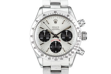 1979 Rolex Daytona 6265 with  Silver BIG RED Daytona Dial photo