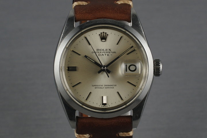 1968 Rolex Date 1500 with Silver Dial photo
