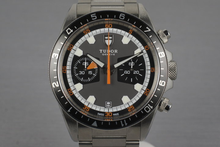 2014 Tudor Heritage Chrono 70330N with Box and Papers photo